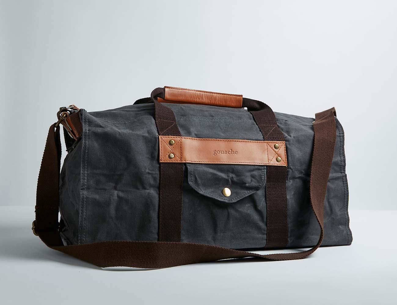 Hogarth Duffel Gym Bag by Gouache
