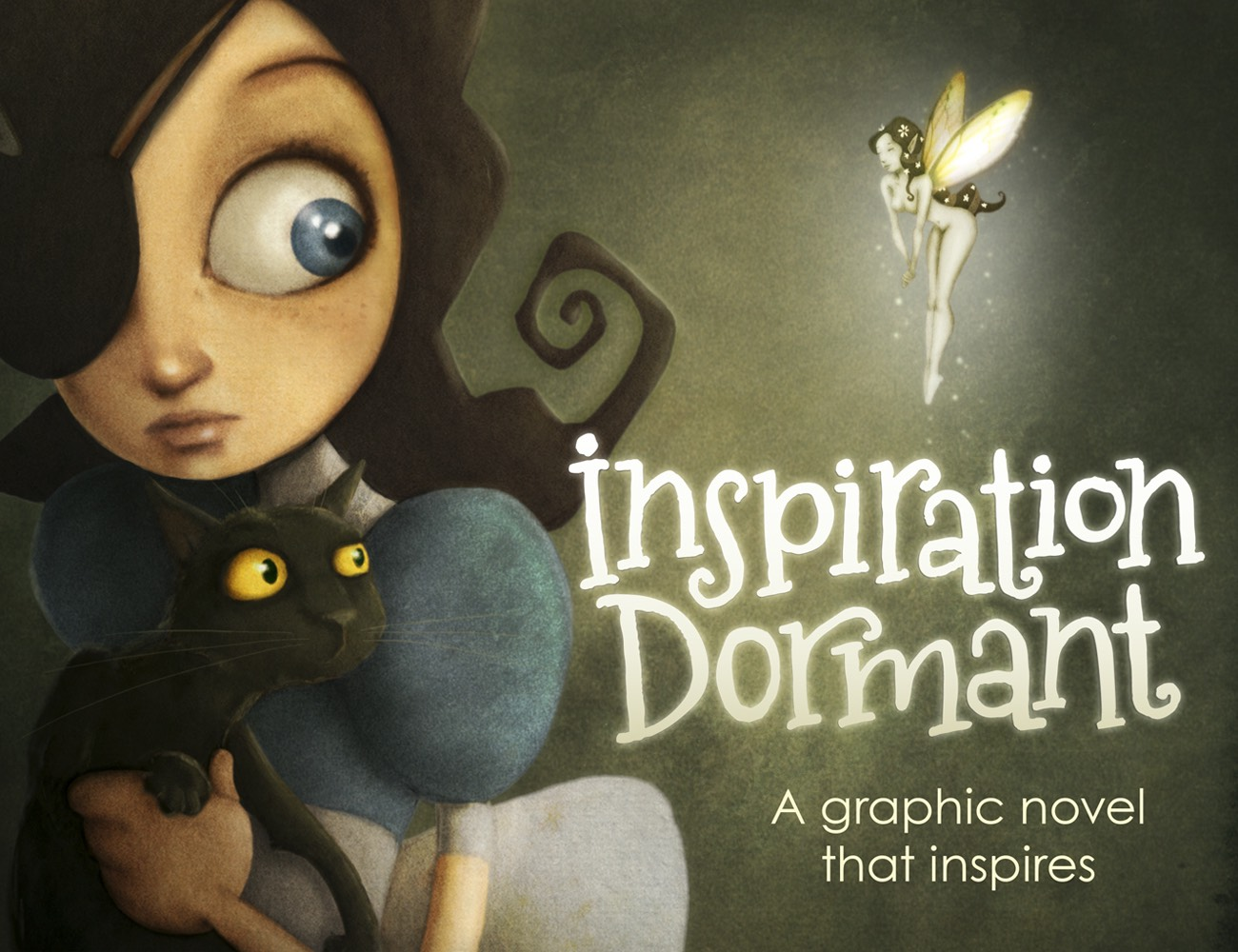 Inspiration Dormant, A Graphic Novel That Inspires