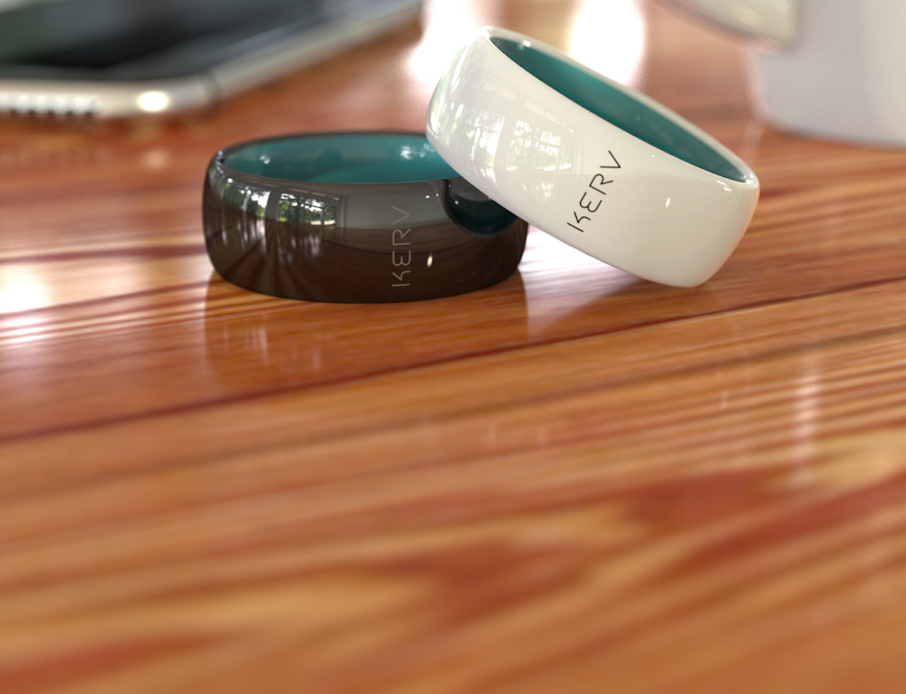 Kerv – The World's First Contactless Payment Ring
