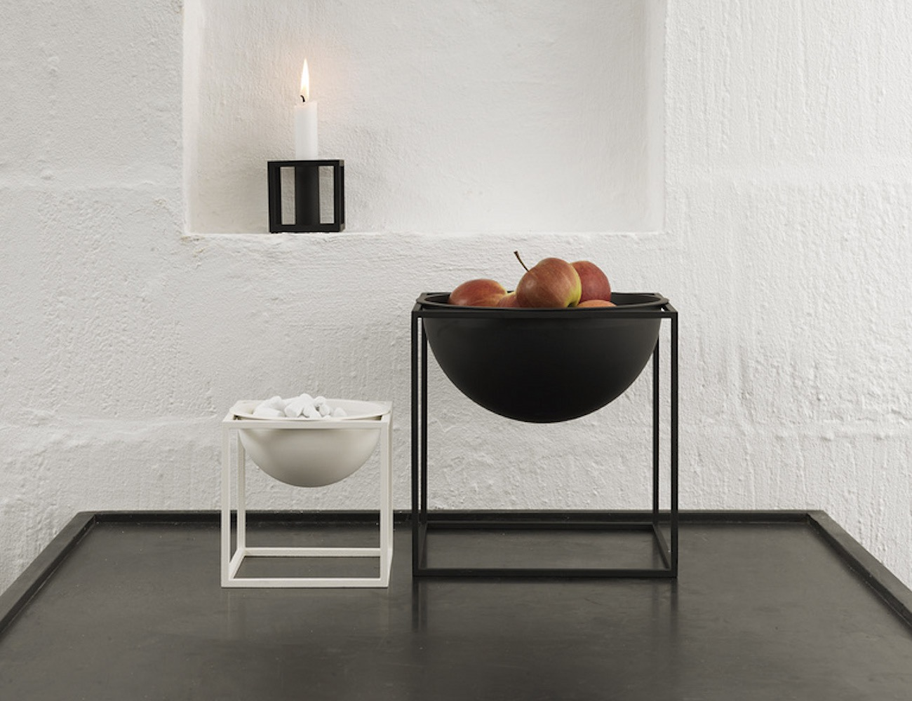 Kubus Bowls by Mogens Lassen – Natural Extension of Kubus Candleholder