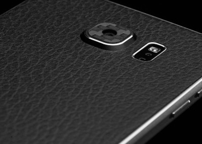 Leather Samsung Galaxy S6 Edge Wrap by SlickWraps
