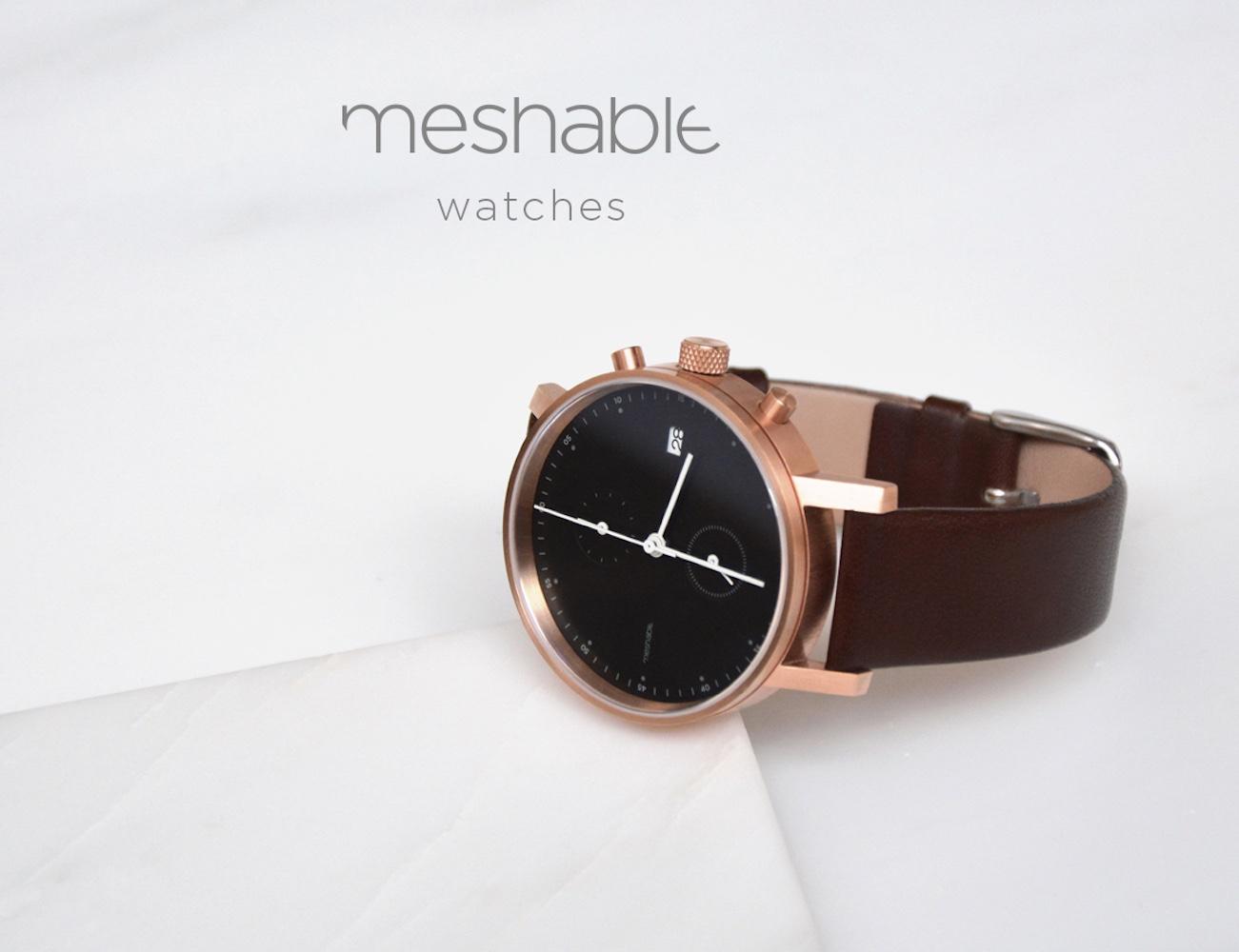 Meshable Chrono – Designed For Designers