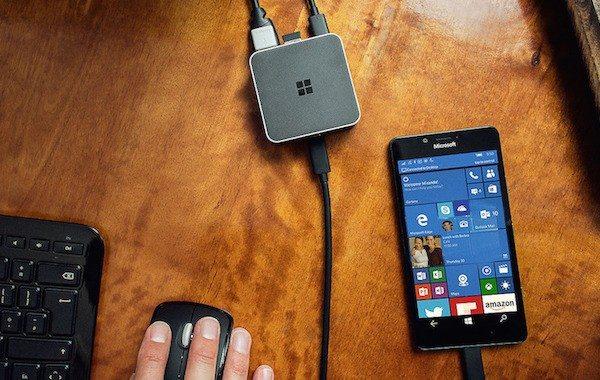 Microsoft's Display Dock Turns Your Windows Phone Into PC