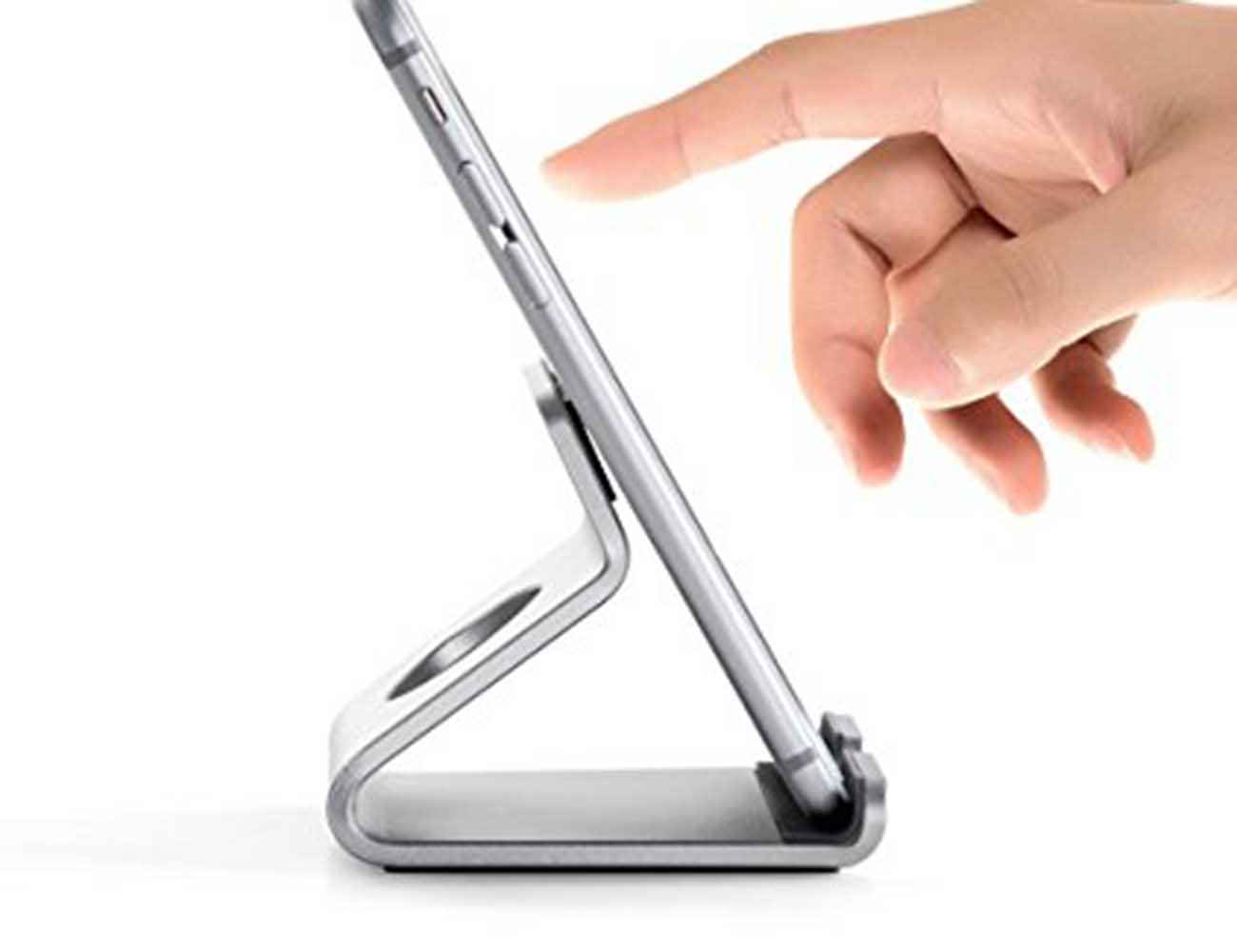 Minimalist+Aluminum+Micro-Suction+Stand+For+Your+Mobile+Devices