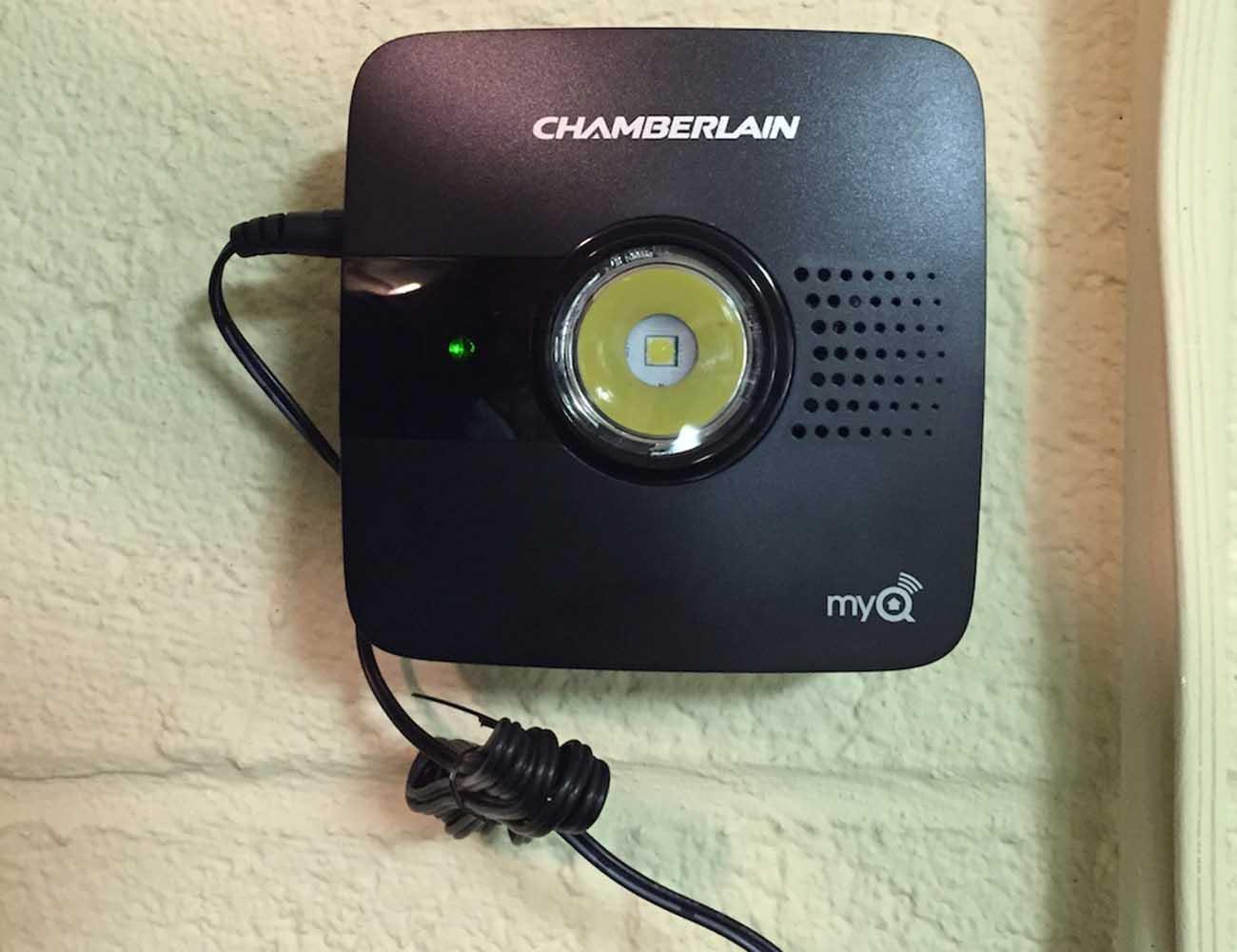 Myq garage smartphone controlled garage door opener for 10 flashes on garage door opener