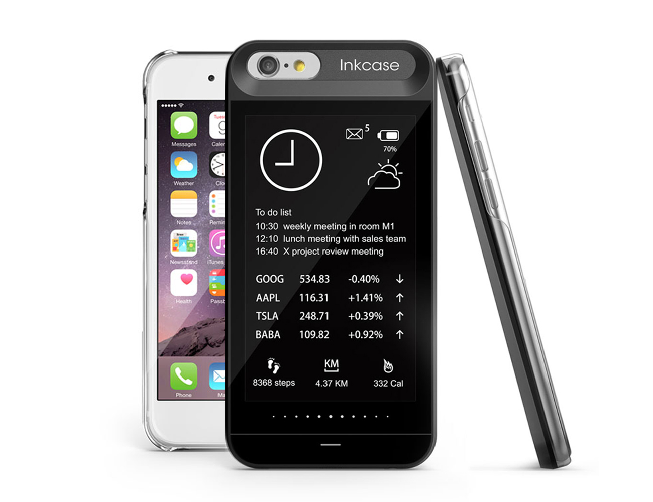 OAXIS InkCase i6 – iPhone Case with E Ink display for iPhone 6/6s