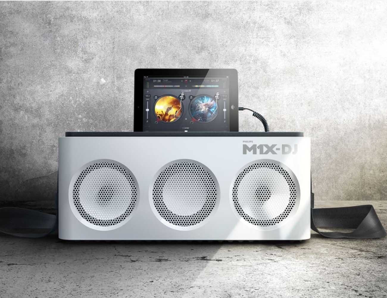 Philips+M1X-DJ+%E2%80%93+Portable+Sound+System+And+Docking+Station