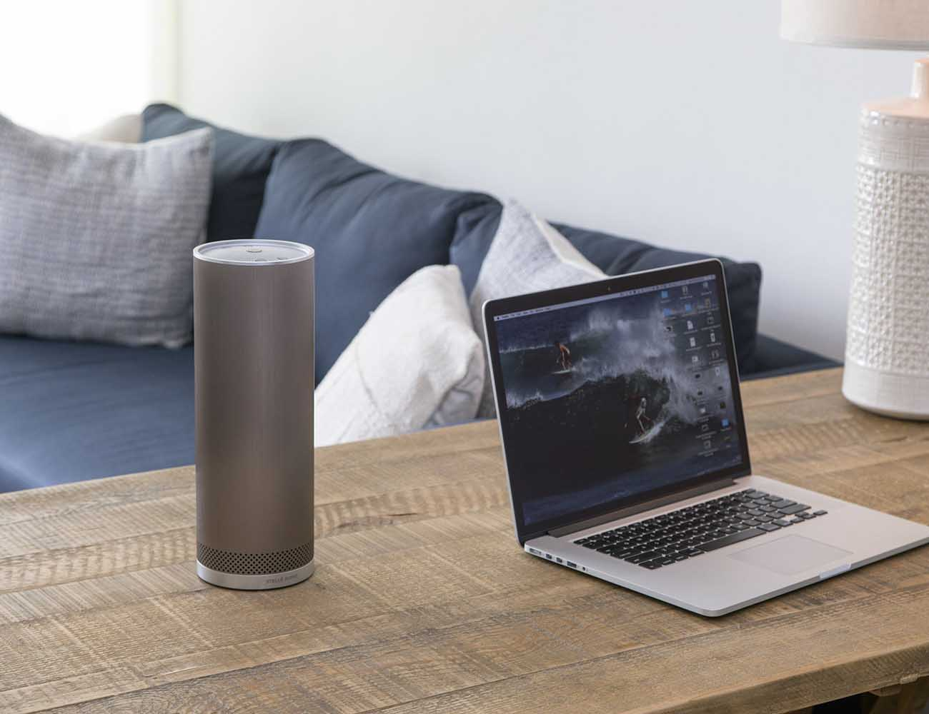 Pillar Bluetooth Speaker by Stellé Audio – 360-degree Sound and 15-Hour Battery Life