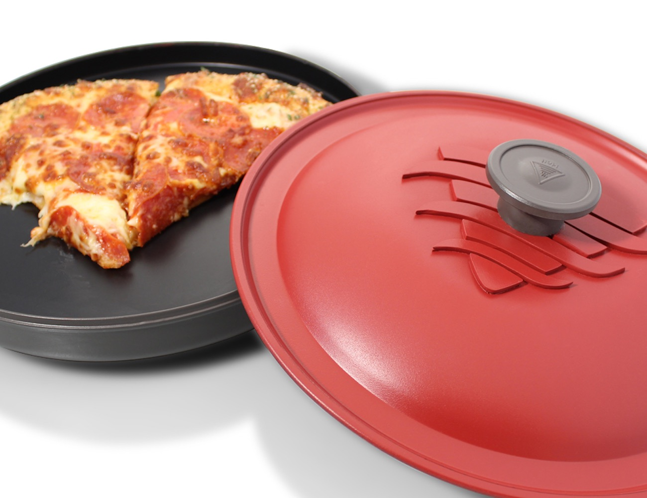 Reheatza Microwave Pizza Pan