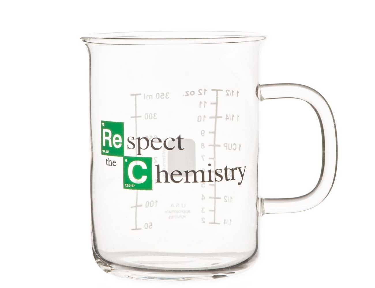 Respect the Chemistry Beaker Mug – Inspired by Breaking Bad