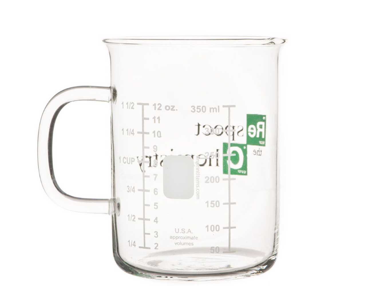 Respect the Chemistry Beaker Mug – Inspired by Breaking Bad