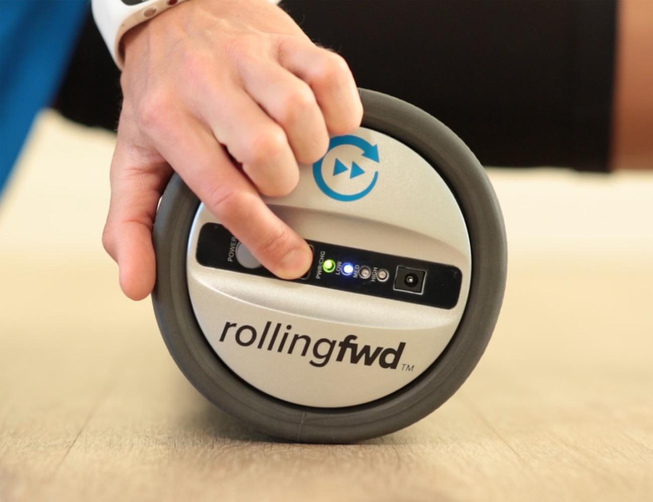 RollingFWD+High-Tech+Vibrating+Foam+Roller