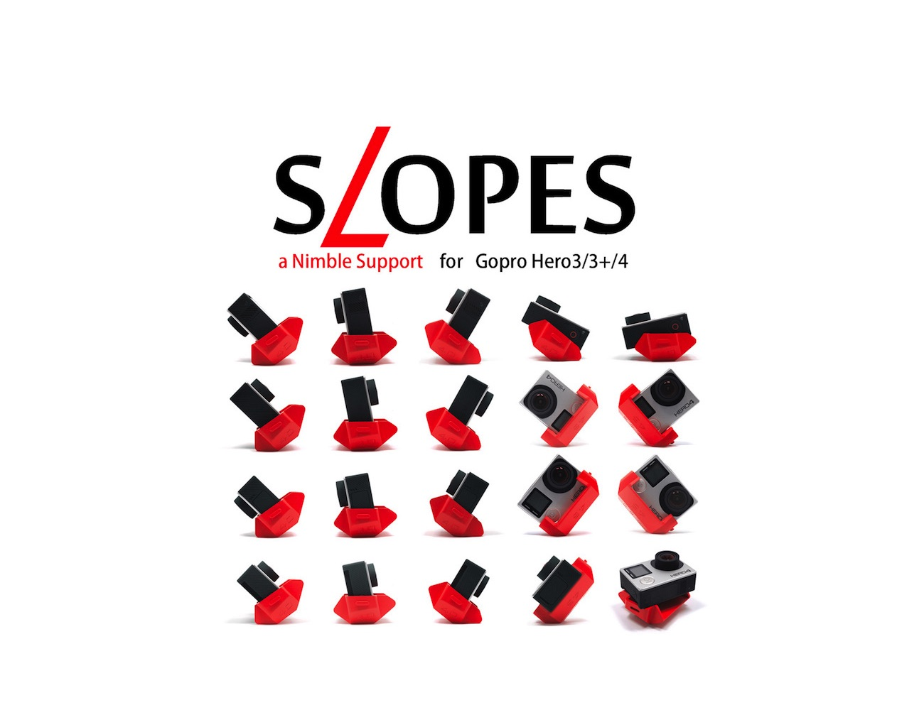 SLOPES for GoPro – The World's First Polyhedron Stand