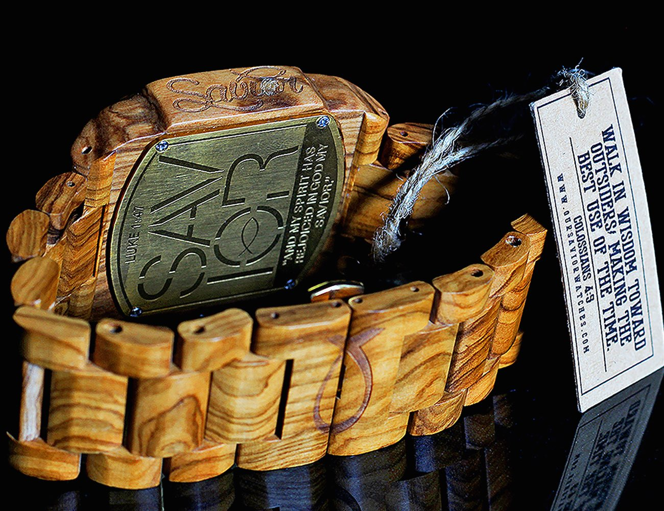 Savior Watches – Premium Biblical Wood Hand-Picked From Israel & Designed in USA
