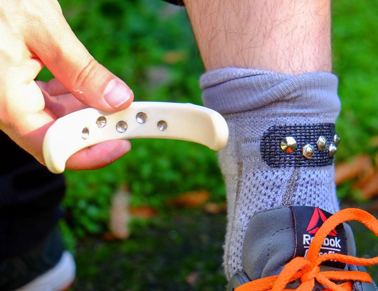 Sensoria – Smart Socks to Track Your Running