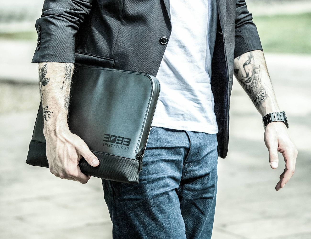 Shock-Absorbing Laptop Sleeve by 3033