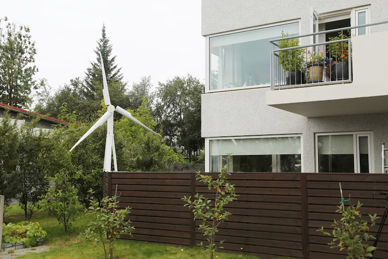 wind turbine house