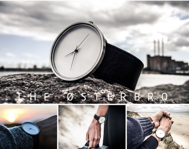 The Østerbro Series byJAGD Watches – Precision Made Using Laser Technology
