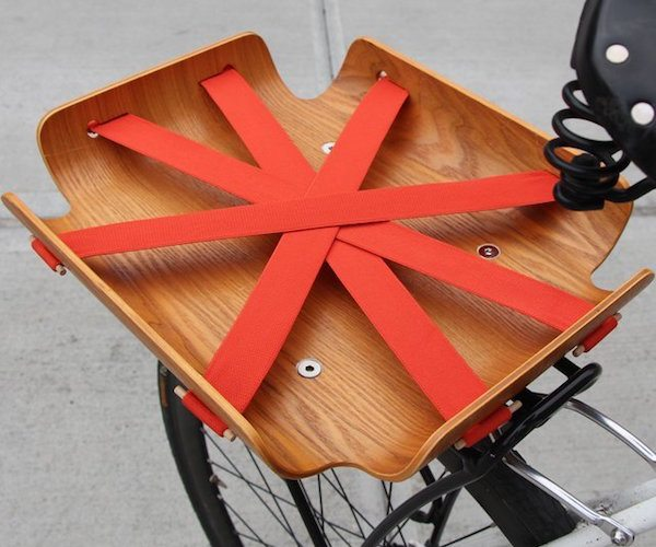 The Bent Bicycle Basket Carries It All