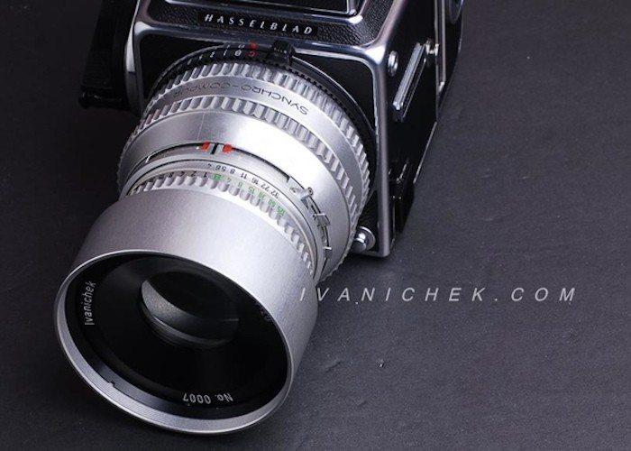 The Petzvar 4/120 Petzval lens for Hasselblad 500 series