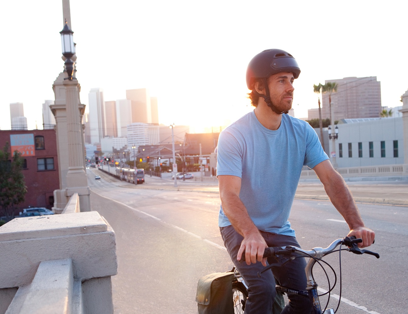 Torch T2 Bike Helmet With Integrated Lights