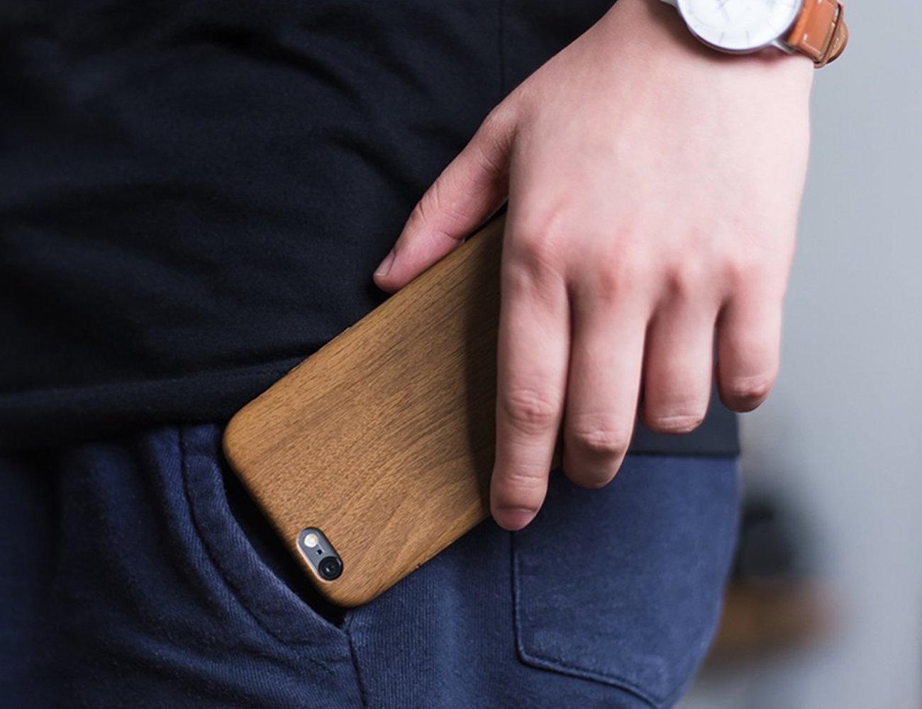 Wood+Pattern+iPhone+Case