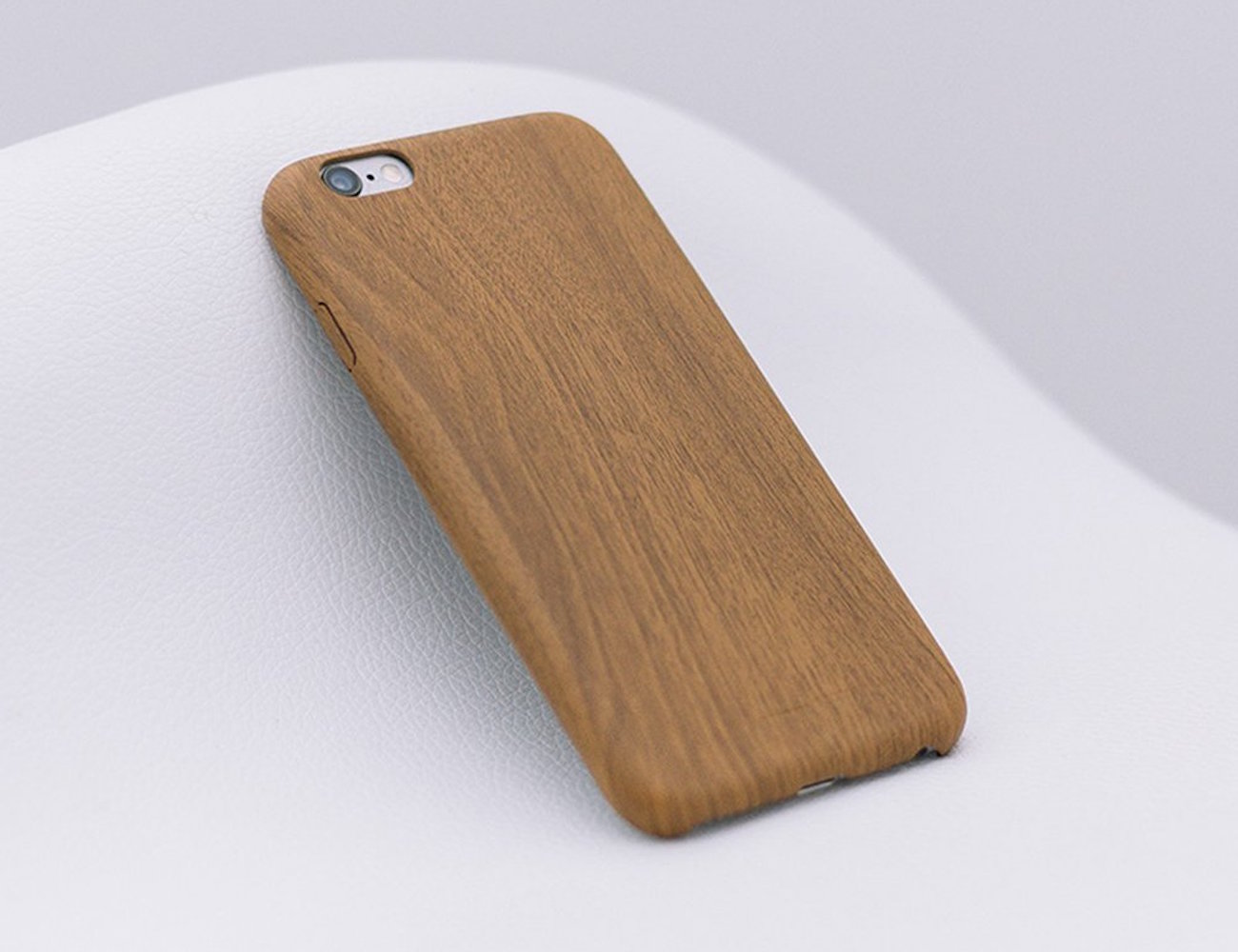 Ultra Slim Wood Pattern iPhone Case by Satechi