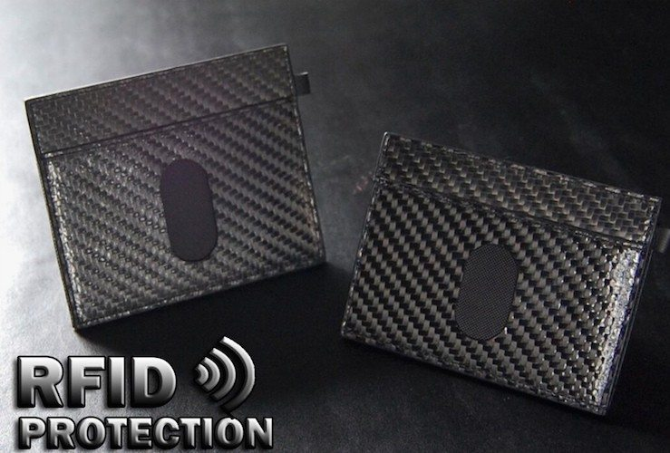 Urban Slim Wallet 2.0 RFID Protection Carbon Fiber edition