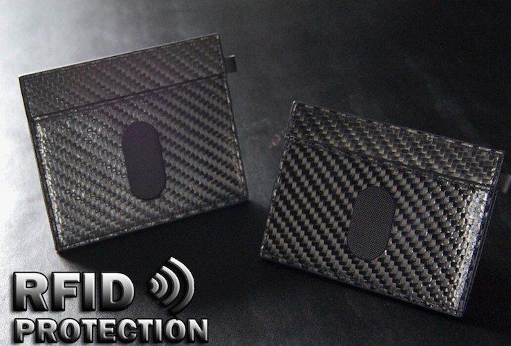 Urban Slim Wallet 2.0 RFID Protection Carbon Fiber edition