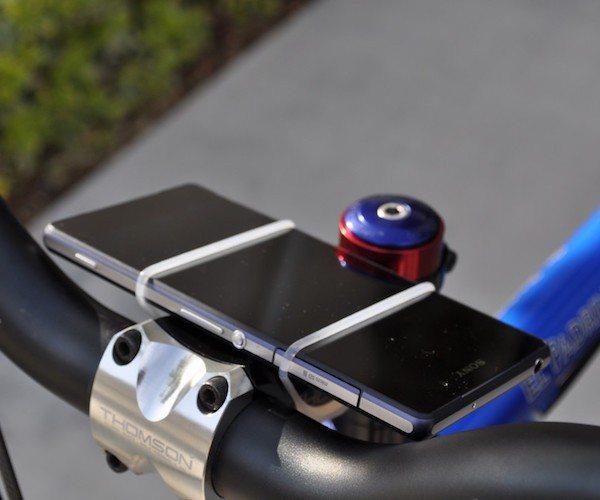 VeloStrap – The Simple Smartphone Bike Mount