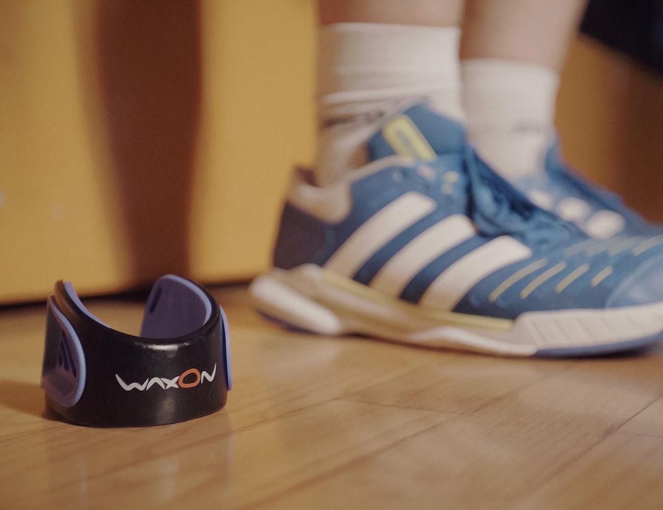 WaxOn – Easily Accessible Wax for Handball Players