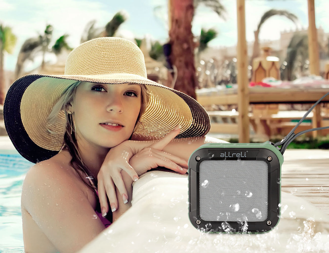 ALLreLi+Rockman+Portable+Waterproof+Bluetooth+Speaker+For+Outdoor
