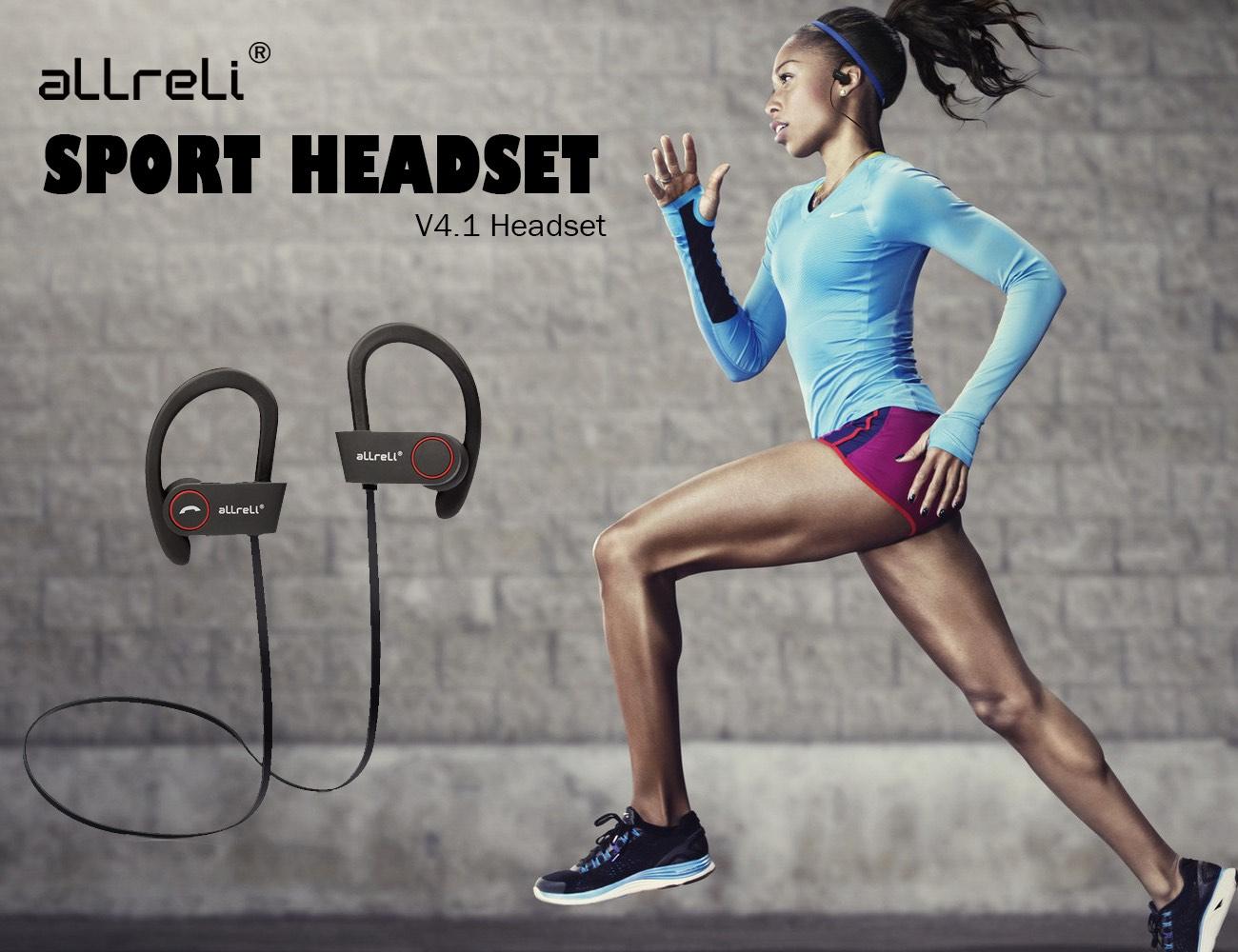 aLLreLi U8 Bluetooth 4.1 Sport Headphones