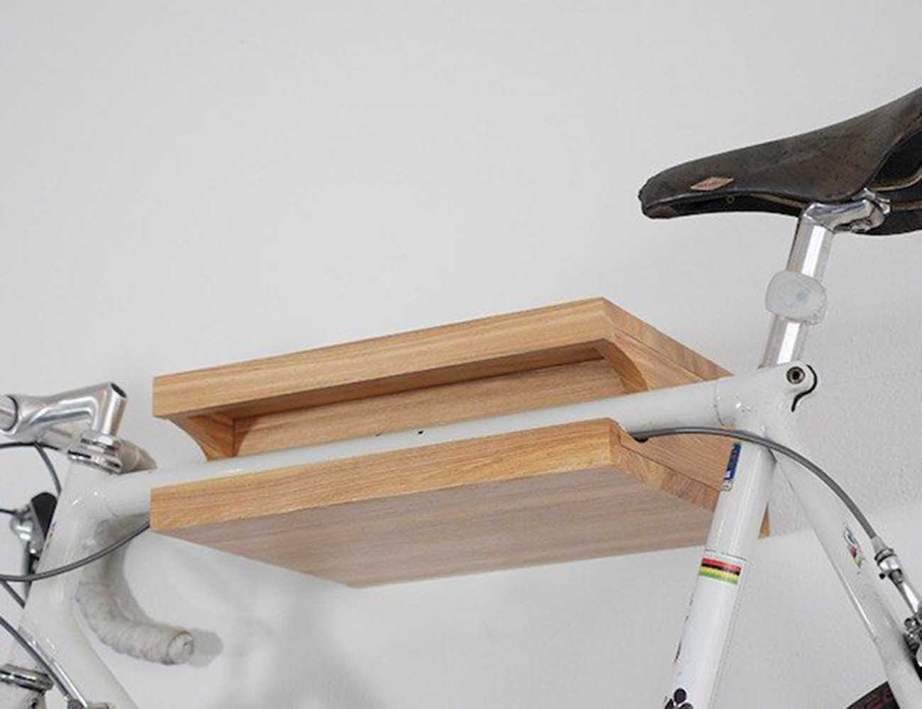 bikefritz – The Beautiful Wooden Bike Shelf