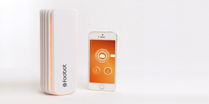 Foobot Indoor Air Pollution Tracker