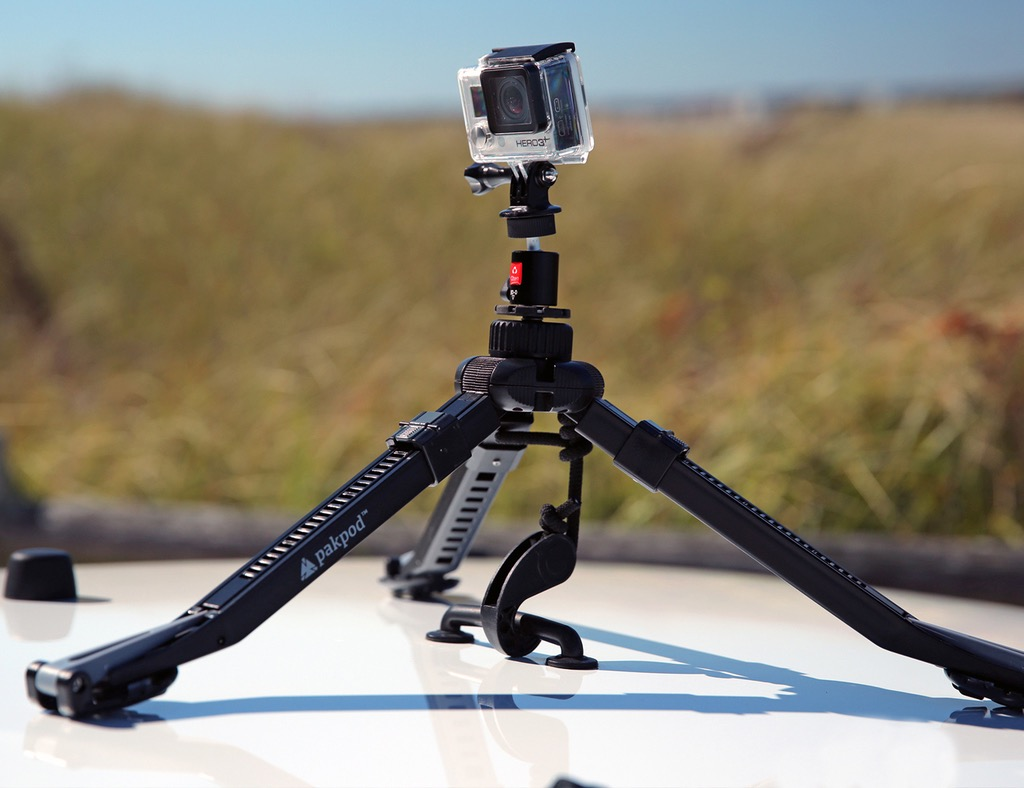 Pakpod – Tripod with Ninja Feet for SmartPhone/GoPro