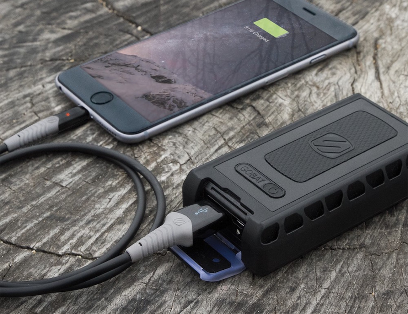 goBAT 6000 – Rugged and Portable Backup Battery by Scosche
