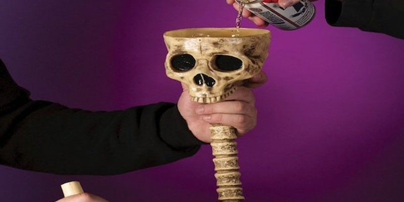 Skeleton Beverage Funnel