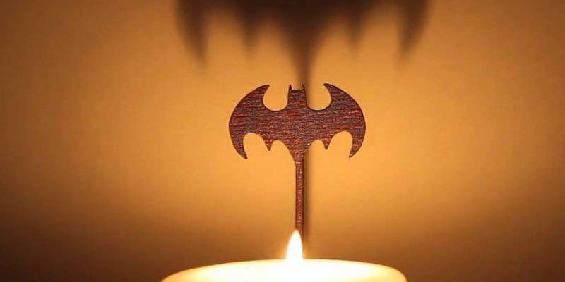 Batman Candle Attachment
