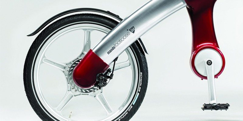 Mando Footloose IM; Stylish chainless e-bike