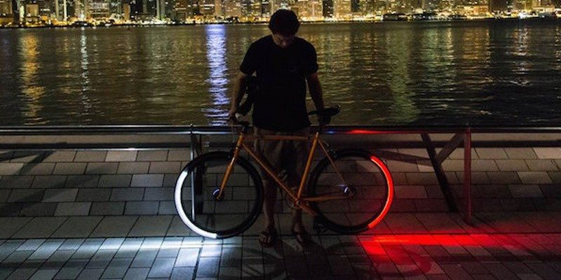 Revolights Skyline – LED Bike Wheel Lights