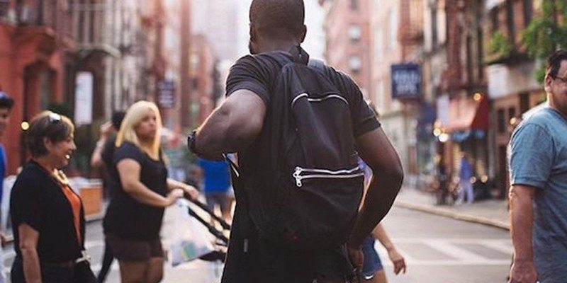 Black Lorimer Backpack
