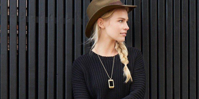 CUFF – Lisa Smart Pendant Necklace