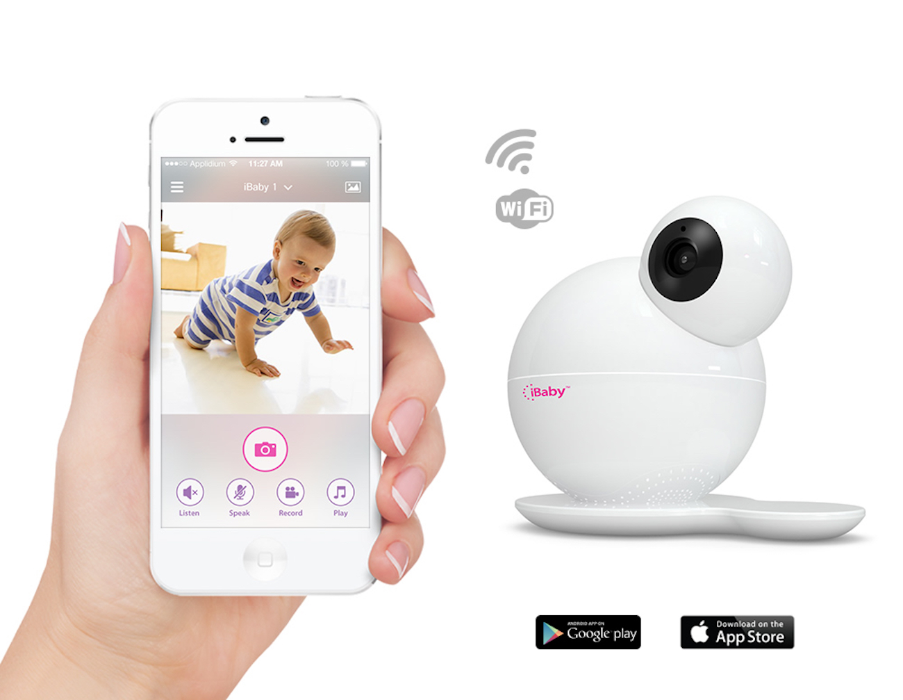 how to connect ibaby monitor to wifi
