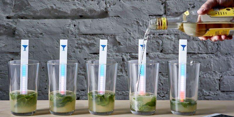 MixStik smart cocktail mixer