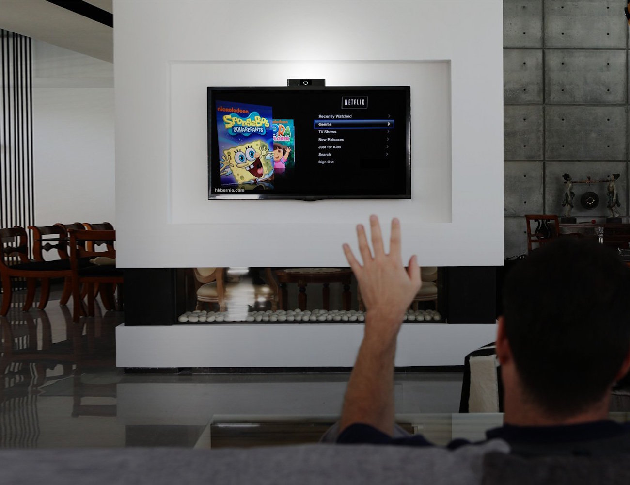 singlecue Gesture Control for Your Home Entertainment Devices