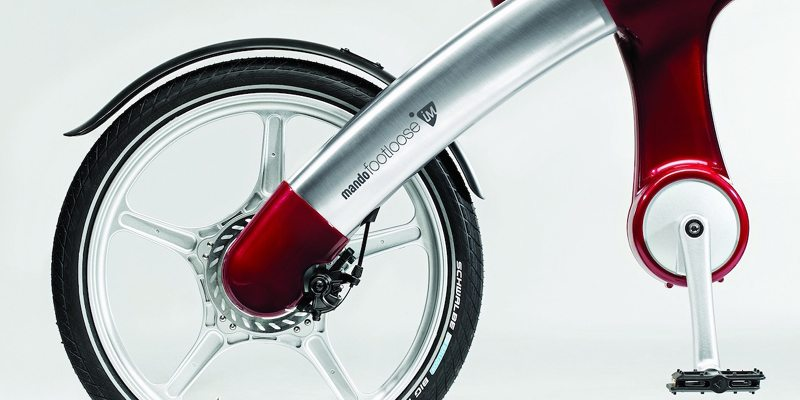 Mando Footloose IM; Stylish chainless e-bike