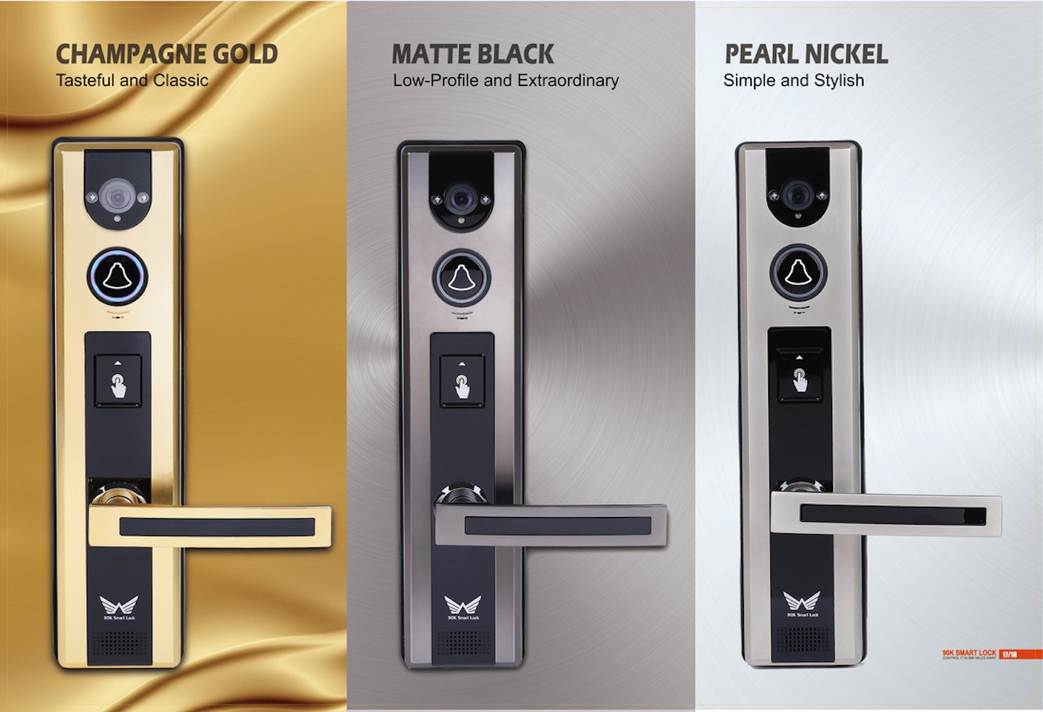 90K Lock – The Revolutionary Smart Lock
