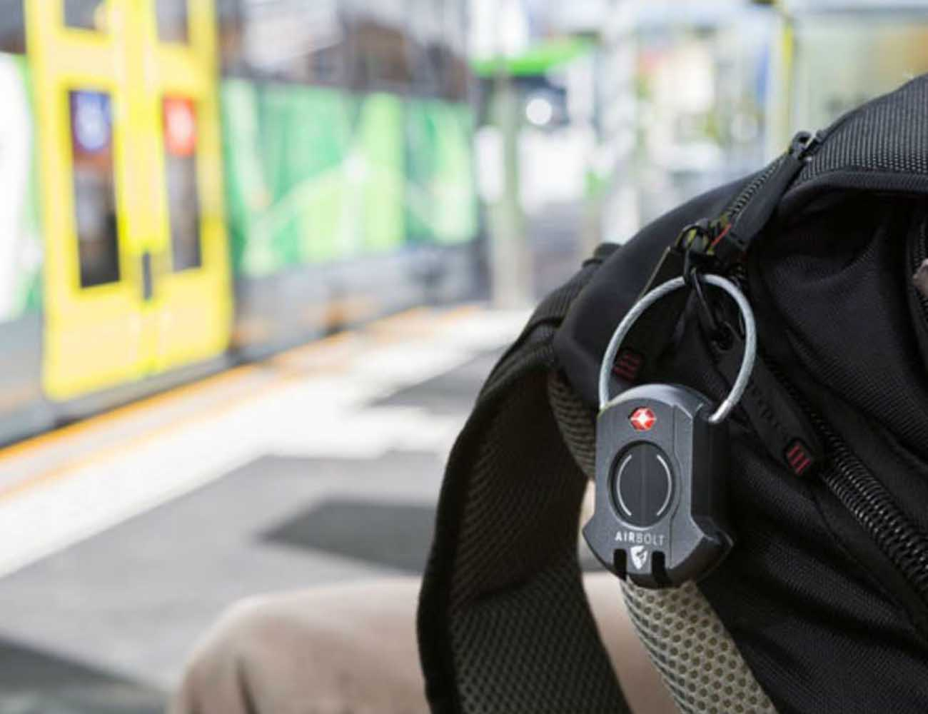 AirBolt – The  Truly Smart Travel Lock