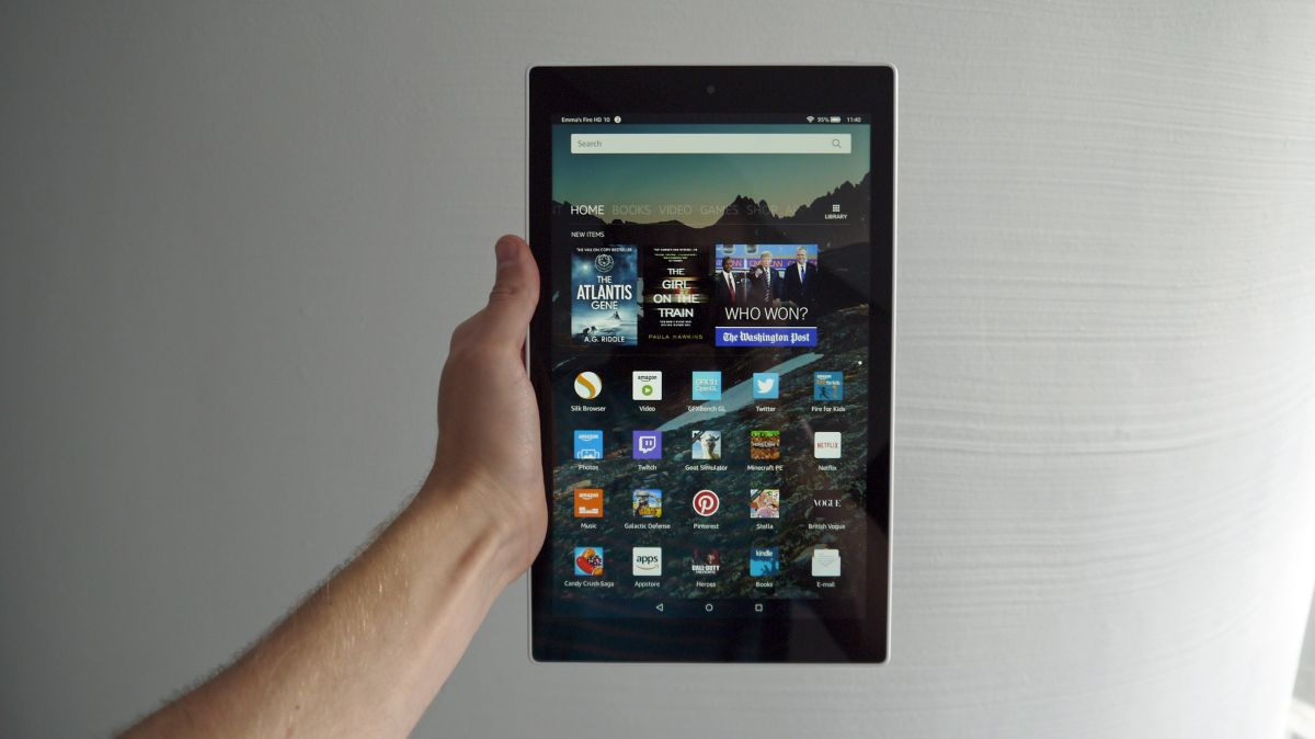 Amazon Fire HD 10 – Powerful HD Tablet With 10.1″ HD Display